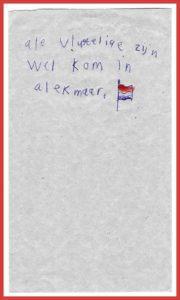 2016-05-01 KND Vrijheidskerk   Ale vlugtelige zijn wel kom in a