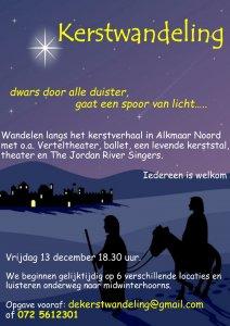 10e Kerstwandeling in Alkmaar Noord